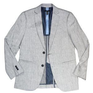 Alfani Linen Stretch Men's Blazer NWT Grey